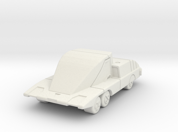 GV05 G4 Security Car in White Natural Versatile Plastic