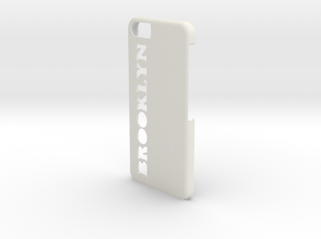 Brooklyn iPhone Case in White Strong & Flexible