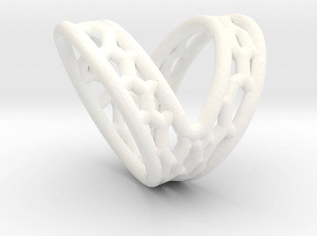 V-shape Finger splint Size10.5 ; Inner diameter 20 in White Processed Versatile Plastic