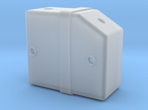 Tyrrell003 Fluid Tank, 1/12 scale in Smooth Fine Detail Plastic