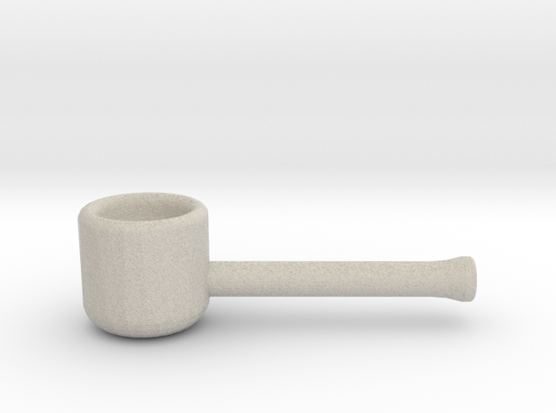 Weed Pipe 2 in Natural Sandstone