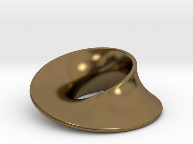 Minimal Mobius pendant (1 in)