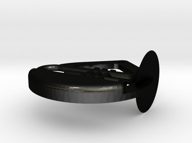 Mellophone emblem 3d printed