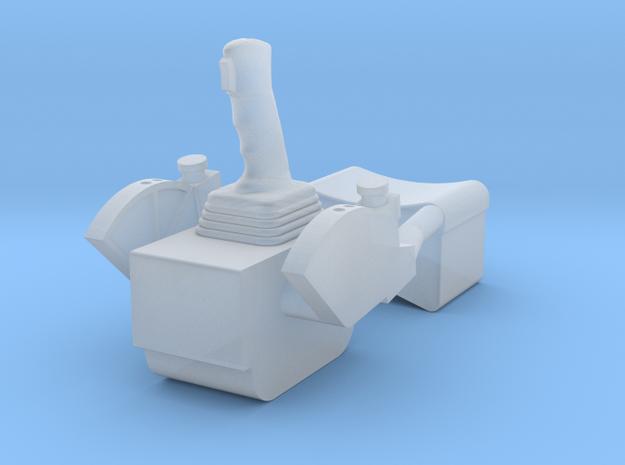 F12D-Unfolded ATCA Armrest-CDR & LMP Sides in Smooth Fine Detail Plastic