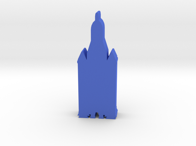Game Piece, SLS Crew Rocket in Blue Processed Versatile Plastic