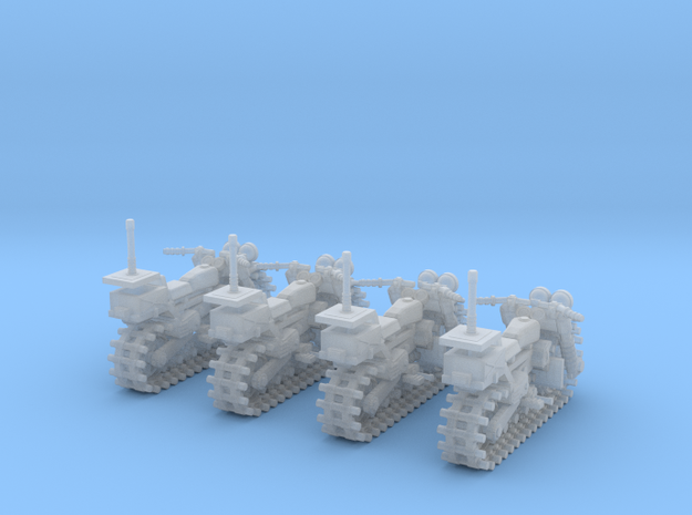 Vezdekhod tracked vehicle (4 pieces)