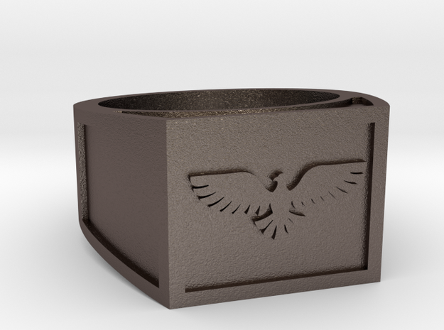 EAGLE RING Stl in Stainless Steel