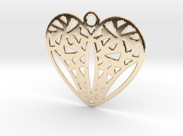 Cuore in 14k Gold Plated