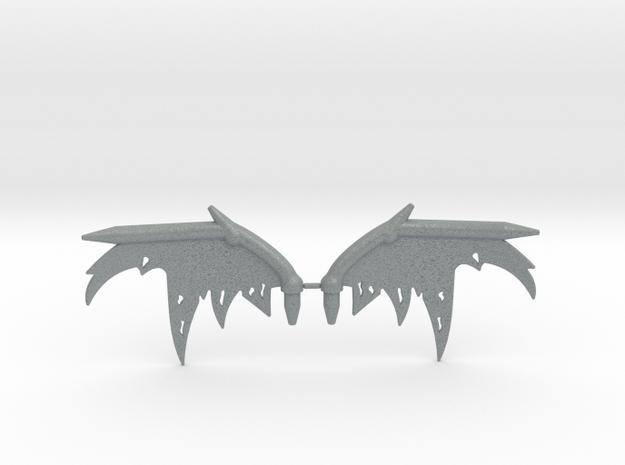 Oryx Wing Sprue in Polished Metallic Plastic