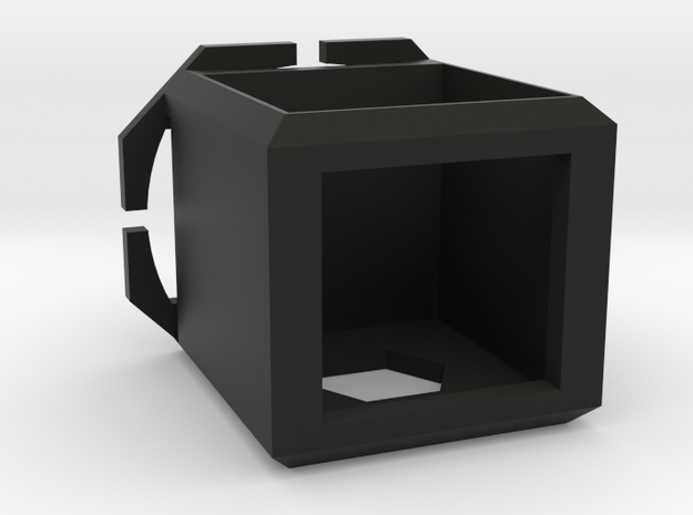 Cubed Camera Head-mount Case in Black Strong & Flexible