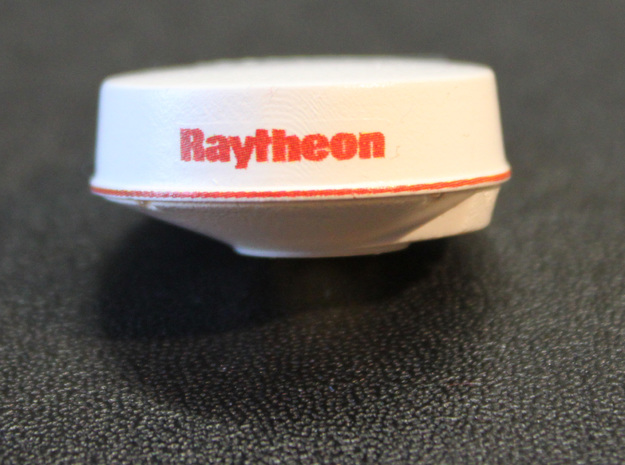 Raytheon R20X bottom in Frosted Extreme Detail