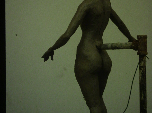 Standing Nude II 3d printed Original clay sculpture before casting