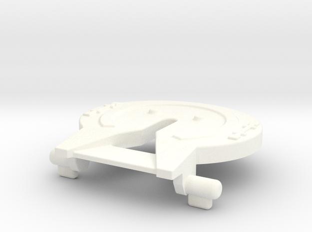 M.A.S.K Rhino 5th wheel/trailer hitch in White Processed Versatile Plastic