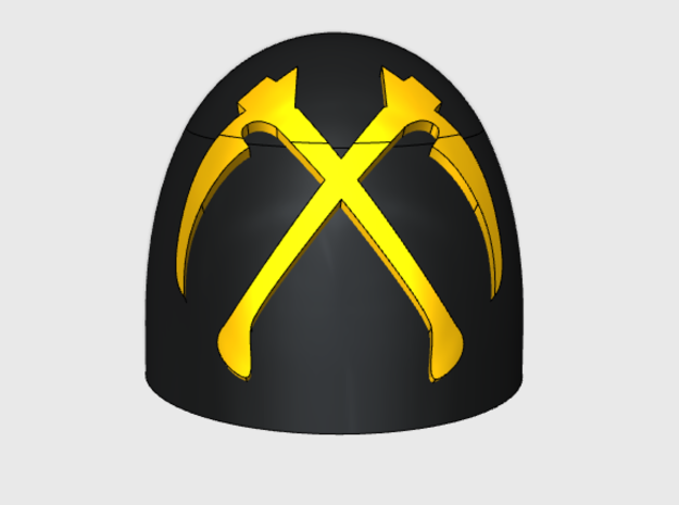 10x Scythes of the Empire - G:5a Shoulder Pad
