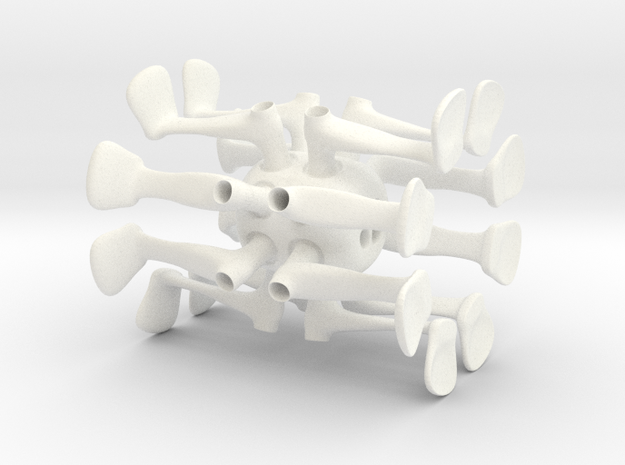 Jdm in White Processed Versatile Plastic