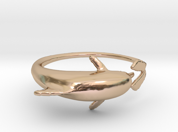Dolphring 3d printed
