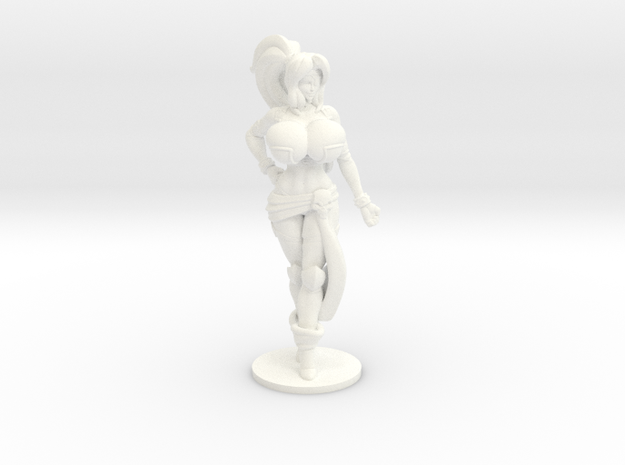 Veronika Red RPG 36mm Mini in White Processed Versatile Plastic