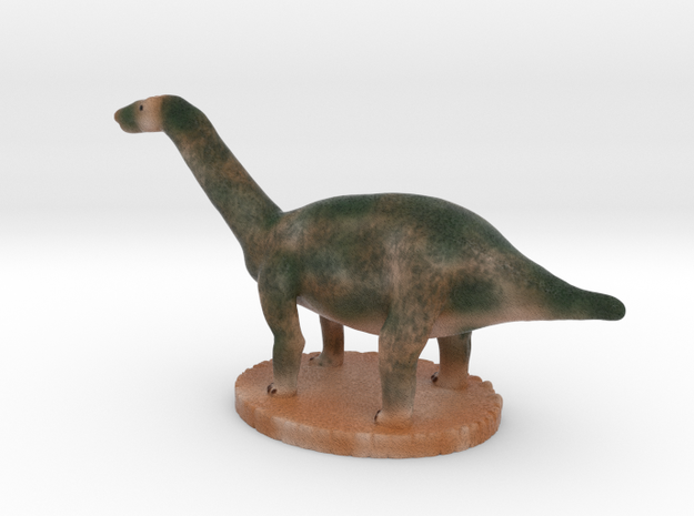 Miniature Apatosaurus Dark Green Full Color