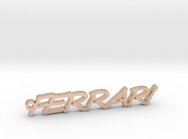 Pendant Ferrari Gold & precious metals