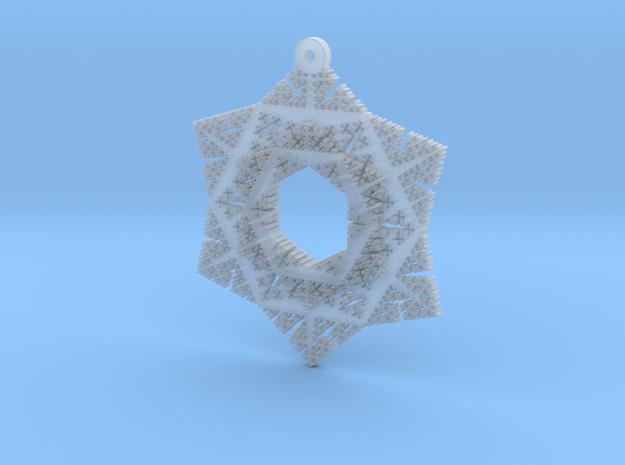 Cesaro Snowflake - 3 in Smooth Fine Detail Plastic