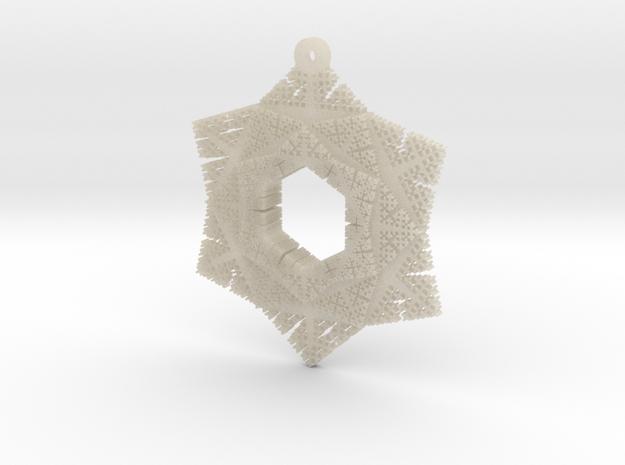 Cesaro Snowflake - 2 3d printed