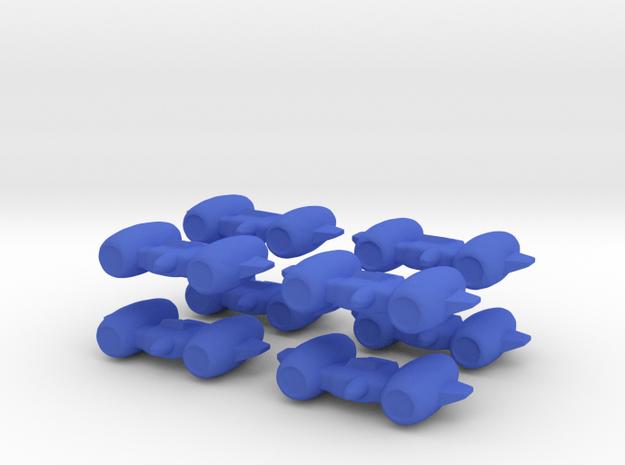 8 Interceptors 3d printed