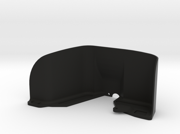 Vaterra Ascender Right Front Inner Fender in Black Natural Versatile Plastic