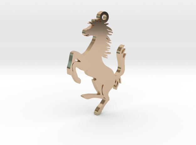 Neckless chain Ferrari gold
