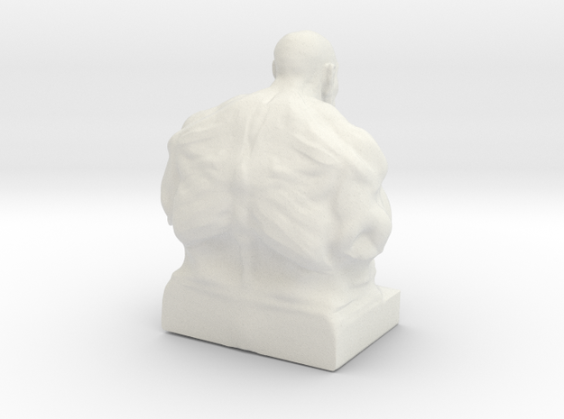 Orcfinished3dprintpsc2 in White Natural Versatile Plastic