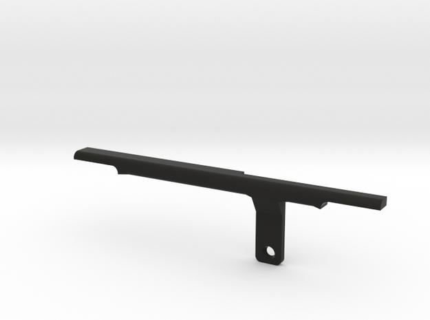 ThumbRail - Bridge - Fender Amer Dlx Jazz 5 Pre-20 in Black Strong & Flexible