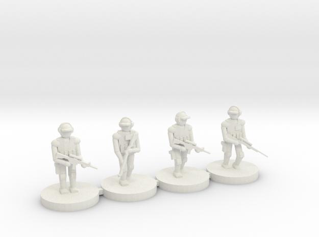 10mm Fireteam (SOF Cap,M4,Axis,870GRS)
