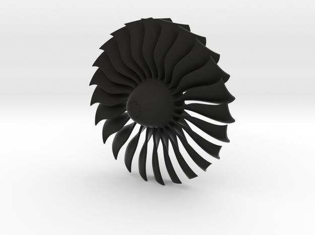Turbine Alliance 80mm in Black Natural Versatile Plastic