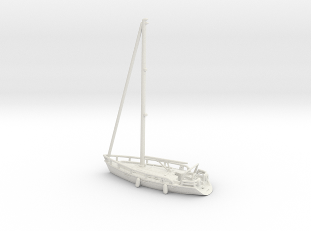 Sailboat 01.Z Scale (1:220)