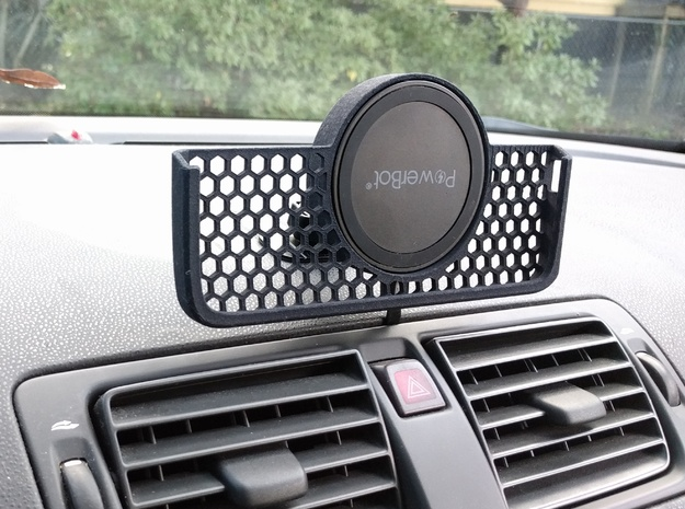Nexus 6 - Qi Car Dock Landscape in Black Natural Versatile Plastic