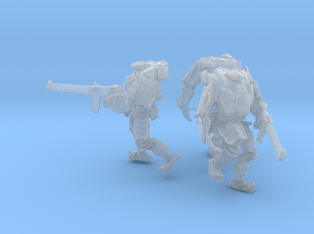 Combat Walkers X3, 15mm Scale, Unbased