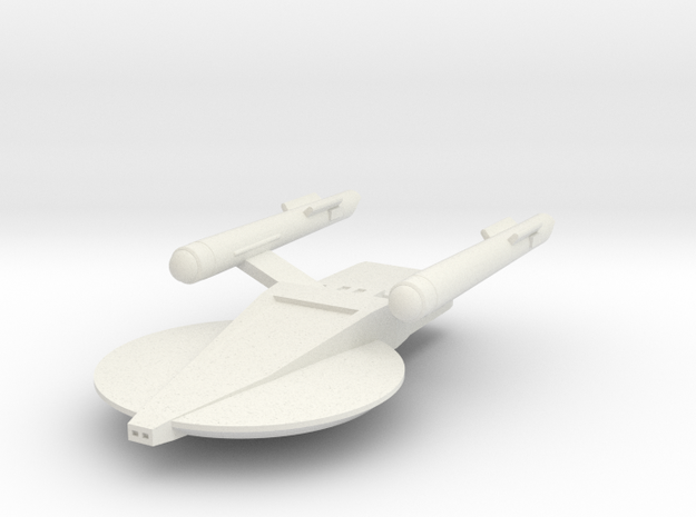 Marklin Class MkI, 1:3788 Scale in White Natural Versatile Plastic