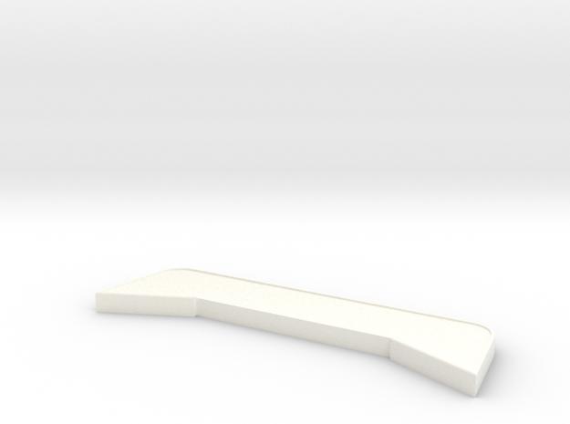 Dachaufsetzer für Z-Cab in White Processed Versatile Plastic