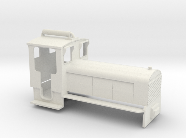 B-1-32-schneider-2c in White Natural Versatile Plastic