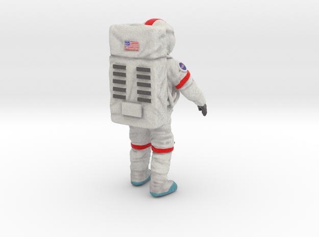 Spaceman--moonwalker-76mm-color---20141024--003d in Full Color Sandstone