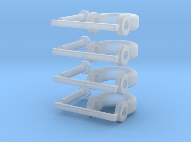 Shackles X 4.1 in Smooth Fine Detail Plastic