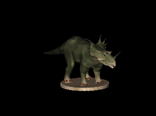Replica Dinosaurs World Styracosaurus  in Smoothest Fine Detail Plastic