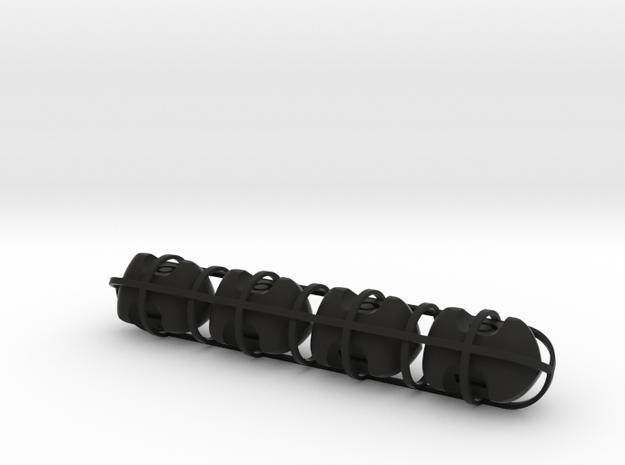Three-sided fudge dice - set of 4