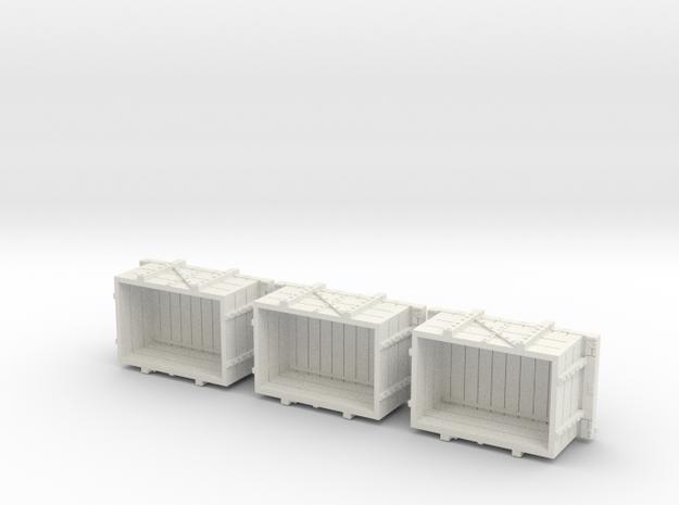 A-1-64-wdlr-a-class-open-2c-x3 in White Natural Versatile Plastic