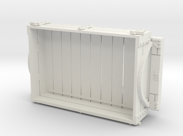 A-1-19-wdlr-a-class-open-fold-sides-wagon1c in White Natural Versatile Plastic