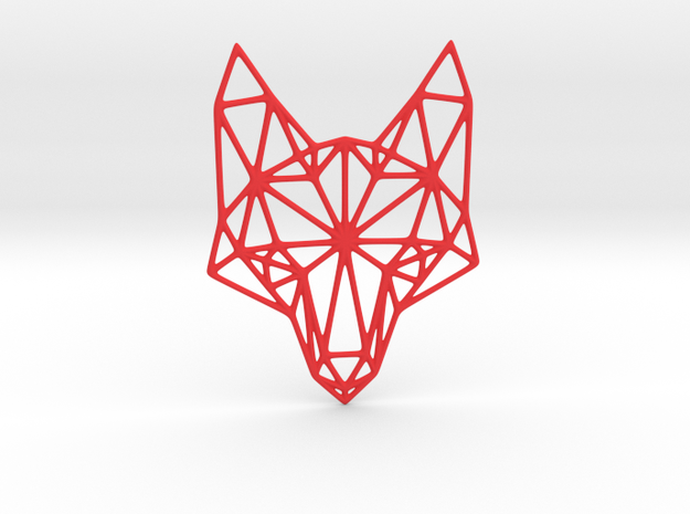 Geometric Fox Head