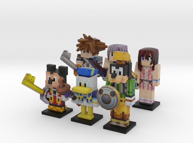Heroes of Light (KH2) in Full Color Sandstone
