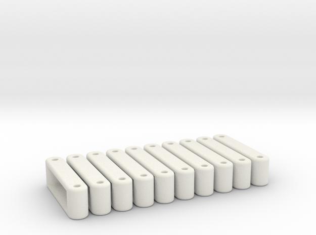 Anterior Cruciate Ligament in White Natural Versatile Plastic