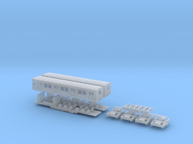 ET165 - Berliner S-Bahn (Z, 1:220) in Smooth Fine Detail Plastic