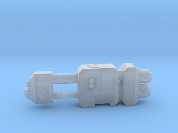 Tanker Spaceship Hollow in Smooth Fine Detail Plastic