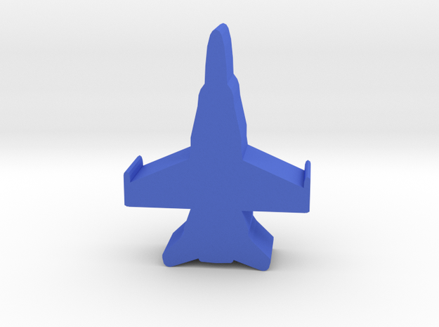 Game Piece, Blue Force Hornet Fighter in Blue Processed Versatile Plastic